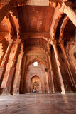 Walkway around Fatehpur Sikri in India Stock Images