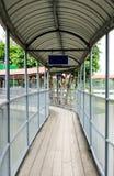 Walkway on the bridge Royalty Free Stock Photography