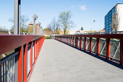 Walkway bridge Royalty Free Stock Images
