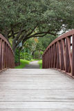 Walkway Bridge Stock Image