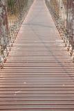 Walkway on the bridge Stock Photography
