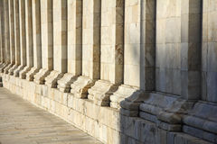 Walkway of Cathedral Duomo di Pisa.JPG Royalty Free Stock Photos