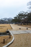 The walkway at Changgyeong palace area4 Stock Images