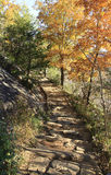 Walkway at Chimney Rock Park NC Stock Images