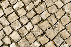 Walkway cobblestone. Stock Images