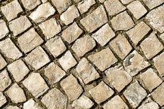 Walkway cobblestone. Stock Images