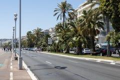 The Walkway Of The English, Nice, France Stock Image