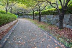 walkway för tappning för stil för bildparkfoto Fotografering för Bildbyråer