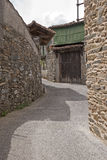 Walkway in a Galician village Stock Photo