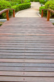 Walkway in garden Royalty Free Stock Photography