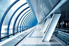 Walkway inside modern building