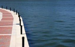Walkway on the lake. A walkway on the lake Royalty Free Stock Image