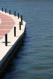 Walkway on the lake. A walkway on the lake Royalty Free Stock Photography
