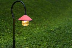 Walkway lighting Stock Image