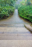 Walkway in Memorial Hall garden of Dr.Sun Yat-sen Royalty Free Stock Photos