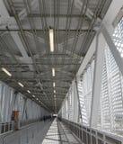 Walkway in milano expo Stock Images