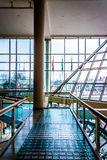 Walkway and modern architecture in The Gallery, at the Inner Har Royalty Free Stock Photography