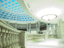 Walkway in modern building. Beautiful walkway in modern building Stock Images