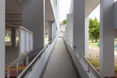 Walkway in modern industrial building. Stock Photography