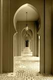 Walkway moroccan style Royalty Free Stock Image