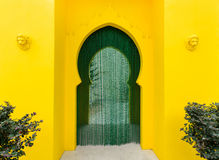 Walkway moroccan style decor Royalty Free Stock Image