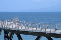 Walkway on the Ocean Stock Image