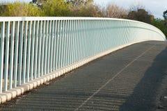 Walkway over freeway Stock Images