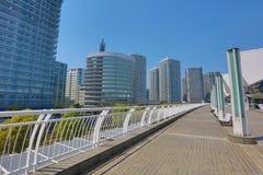 The walkway at Pacifico Yokohama Stock Photo