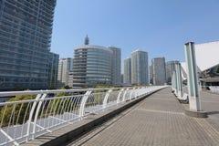 The walkway at Pacifico Yokohama Stock Images