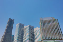 The walkway at Pacifico Yokohama Stock Photography