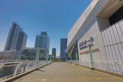 The walkway at Pacifico Yokohama Royalty Free Stock Image