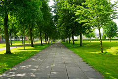 Walkway in the Park Royalty Free Stock Images