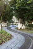 Walkway in park Stock Photos