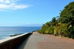 Walkway playa paraíso Stock Images