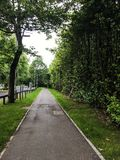 Walkway in Scotland stock photos