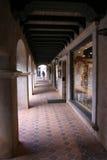 Walkway at shops. Shopping walkway at Tlaquepaque Arizona Royalty Free Stock Images