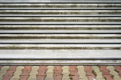 Walkway stairs outdoor and background photo stock Stock Images