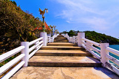 Walkway in step by step Royalty Free Stock Images