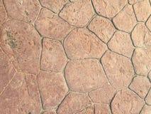 Walkway stone brick Stock Photo