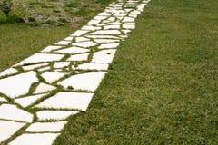 Walkway stones Stock Image