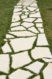 Walkway stones Royalty Free Stock Image