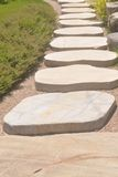 Walkway stones Stock Photography