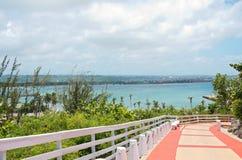 Walkway to Arecibo Lighthouse Stock Image