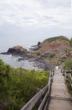 Walkway to Beach, Cape Schanck, Mornington Peninsula, Australia. Stock Image