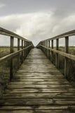 Walkway to the beach of San Juan Royalty Free Stock Photography