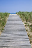 Walkway to beach Royalty Free Stock Photography