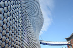 Walkway to the Bullring shopping centre, Birmingham. Engalnd Royalty Free Stock Photo