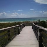 Walkway to paradise royalty free stock images