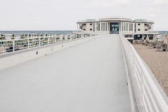 The walkway to the Rotonda a Mare in Senigallia, Marche, Ancona, Royalty Free Stock Image