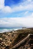 Walkway to Seal Bay. The walkway to Seal Bay Conservation Park Kangaroo Island Australia Royalty Free Stock Photography